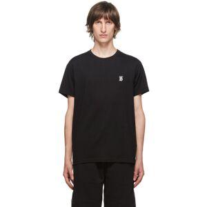 Burberry Black TB Monogram Parker T-Shirt  - Black A1189 - Size: Medium