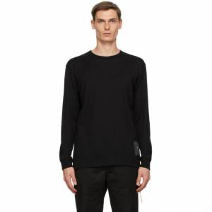 mastermind WORLD Black Logo Long Sleeve T-Shirt  - BLACK - Size: Medium