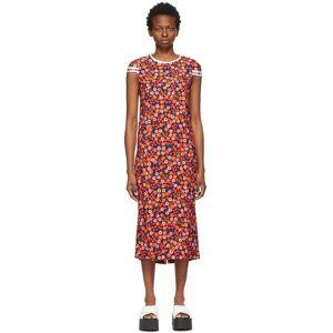 Marni Black Pop Garden Print Dress  - PGN99 Black - Size: Extra Small