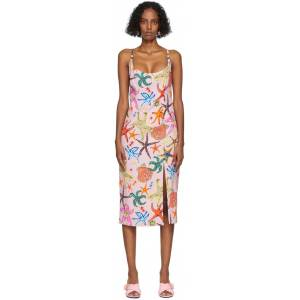 Versace Pink Trésor De La Mer Dress  - 5P020 Pink - Size: Extra Small