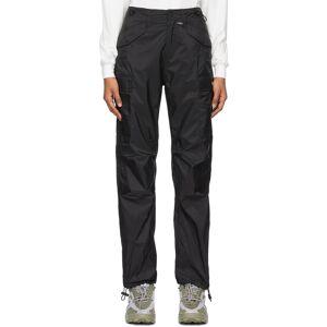 032c Black Nylon Cargo Pants  - Black - Size: 26