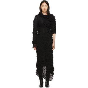 Comme des Garcons Black Mesh Rashel Long Dress  - 1 Black - Size: Extra Small