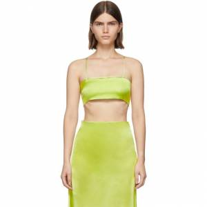 Gauge81 Green Sienna Bra Tank Top  - Bright Lime - Size: Extra Small
