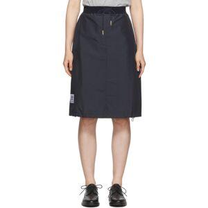 Thom Browne Navy Trompe LOeil Trouser Skirt  - 415 NAVY - Size: 24