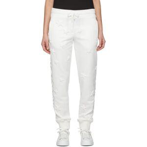 Dolce & Gabbana White Millennials Star Scuba Lounge Pants  - W0111 White - Size: 28
