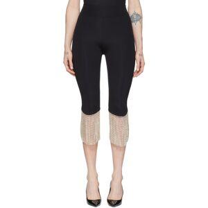 Burberry Black Charente Biker Shorts  - Black - Size: 23
