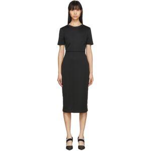 Fendi Black Forever Fendi Short Sleeve Dress  - F0GME Black - Size: Small