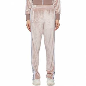 Palm Angels Pink Chenille Lounge Pants  - Rose - Size: 23
