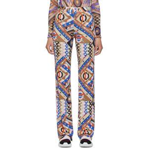 Emilio Pucci Multicolor Vivara Baby Print Flared Trousers  - 005 Multi - Size: 24