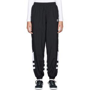 adidas Originals Black Big Logo Track Pants  - Black - Size: 24