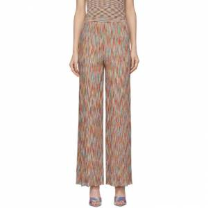 Missoni Multicolor Flared Stripe Lounge Pants  - FM04Y Multi - Size: 26