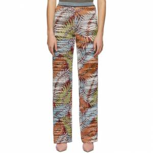 Missoni Multicolor Knit Palm Spring Trousers  - SM0YW Multi - Size: 24