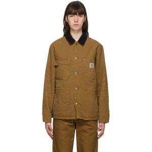 Carhartt Work In Progress Brown OG Chore Coat  - Hamilton Br - Size: Extra Small