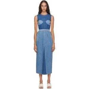 MM6 Maison Margiela Blue Denim Dress  - 981 Denim - Size: Large