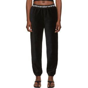 alexanderwang.t Black Corduroy Lounge Pants  - 001 Black - Size: 30