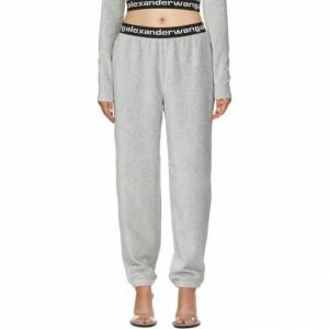 alexanderwang.t Grey Corduroy Lounge Pants  - 030 Heather - Size: 28
