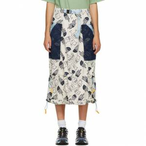 Brain Dead Off-White The North Face Edition Tech Skirt  - WHITE - 2F4 - Size: 32