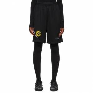 Balenciaga Black Sporty Mesh Shorts  - 1070 Black - Size: 28