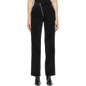 Andersson Bell Navy Corduroy Smith Trousers  - Navy - Size: 28