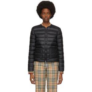 Burberry Black Down Abbeytown Jacket  - Black - Size: Large