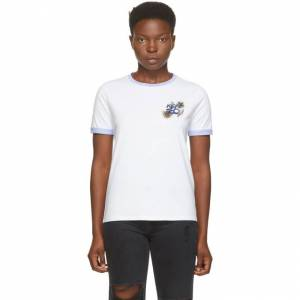 Kenzo White High Summer T-Shirt  - 01 White - Size: Extra Small