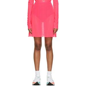 PRISCAVera Pink A-Line Briefs Skirt  - Guava - Size: 28