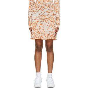 PRISCAVera White A-Line Briefs Skirt  - Goldfish - Size: 26