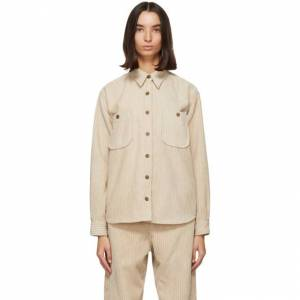 Isabel Marant Etoile Beige Dexo Shirt  - 90BE Beige - Size: Extra Small