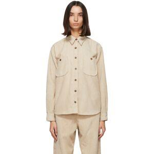 Isabel Marant Etoile Beige Dexo Shirt  - 90BE Beige - Size: Small