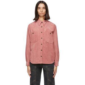 Isabel Marant Etoile Pink Dexo Shirt  - 40RW Rosewo - Size: Extra Small