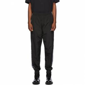 Etudes Black Wimbledon Track Pants  - BLACK - Size: 36