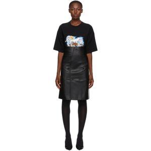 VETEMENTS Black Cut Up Tailored Skirt  - Black - Size: 26