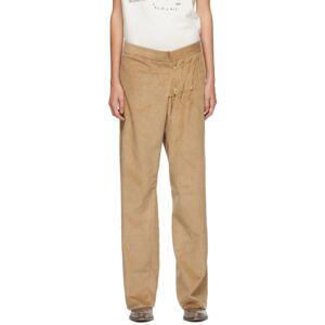 Bless Tan SMLXL Long Corduroy Trousers  - Beige Cord - Size: 23
