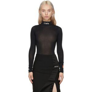 Heron Preston Black Style Bodysuit  - Black - Size: Extra Small