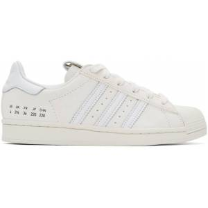 adidas Originals Off-White Suede Superstar Sneakers  - ftwr white - Size: 39.5