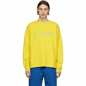 Noon Goons Yellow Jetties Long Sleeve T-Shirt  - NEONYELLOW - Size: 2X-Large