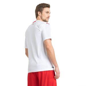 Puma Switzerland Men's Away Replica Jersey, White/Red, size X Large, Clothing
