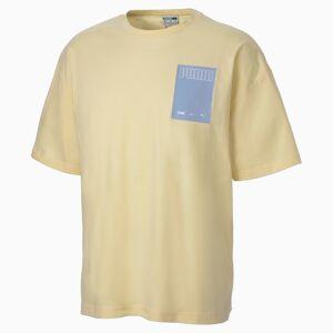 Puma Evolution Graphic Men's T-Shirt,  French Vanilla, size 2X Large, Clothing