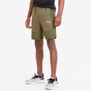 Puma Evostripe Lite Men's Shorts, Burnt Olive, size Small, Clothing