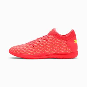 Puma Future 5.4 IT Men's Football Boots, Peach/Fizzy Yellow, size 10, Shoes
