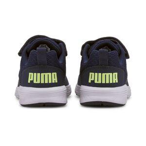 Puma NRGY Comet Preschool Trainers, Peacoat/Sharp Green/White, size 10, Shoes