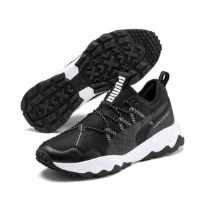 Puma Ember Trl Men's Running Shoes, Black/White, size 10.5, Shoes