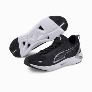 Puma Minima Men's Running Shoes, Black/Silver, size 3, Shoes