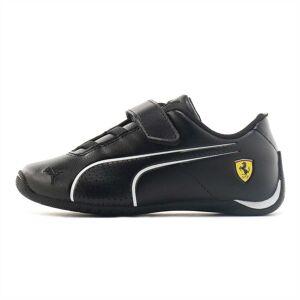 Puma SF Future Cat Ultra V Preschool Shoes, Black/White, size 11.5, Shoes