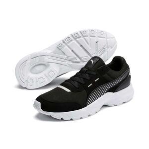 Puma Women's PUMA Future Runner Trainers, Black/White, size 4.5, Shoes