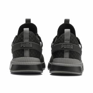 Puma Women's PUMA Pacer Next Excel Trainers, Black/Charcoal Grey, size 8.5, Shoes