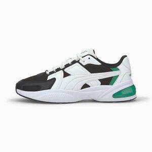 Puma Women's PUMA Ascend Trainers,  White/Black/Amazon Green, size 11, Shoes