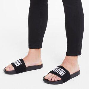 Puma x The Hundreds Leadcat Sandals, Black/White, size 13, Shoes