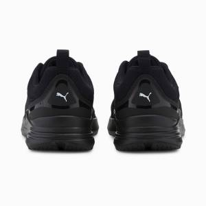 Puma Men's PUMA Wired Trainers,  Black/White, size 8.5, Shoes