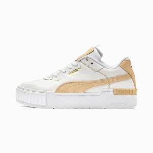 Puma Cali Sport Pastel Women's Trainers, Beige, size 3, Shoes